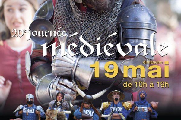 journée médiévale liverdun affiche