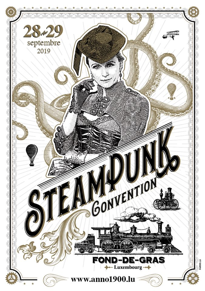 convention steampunk madeleine m