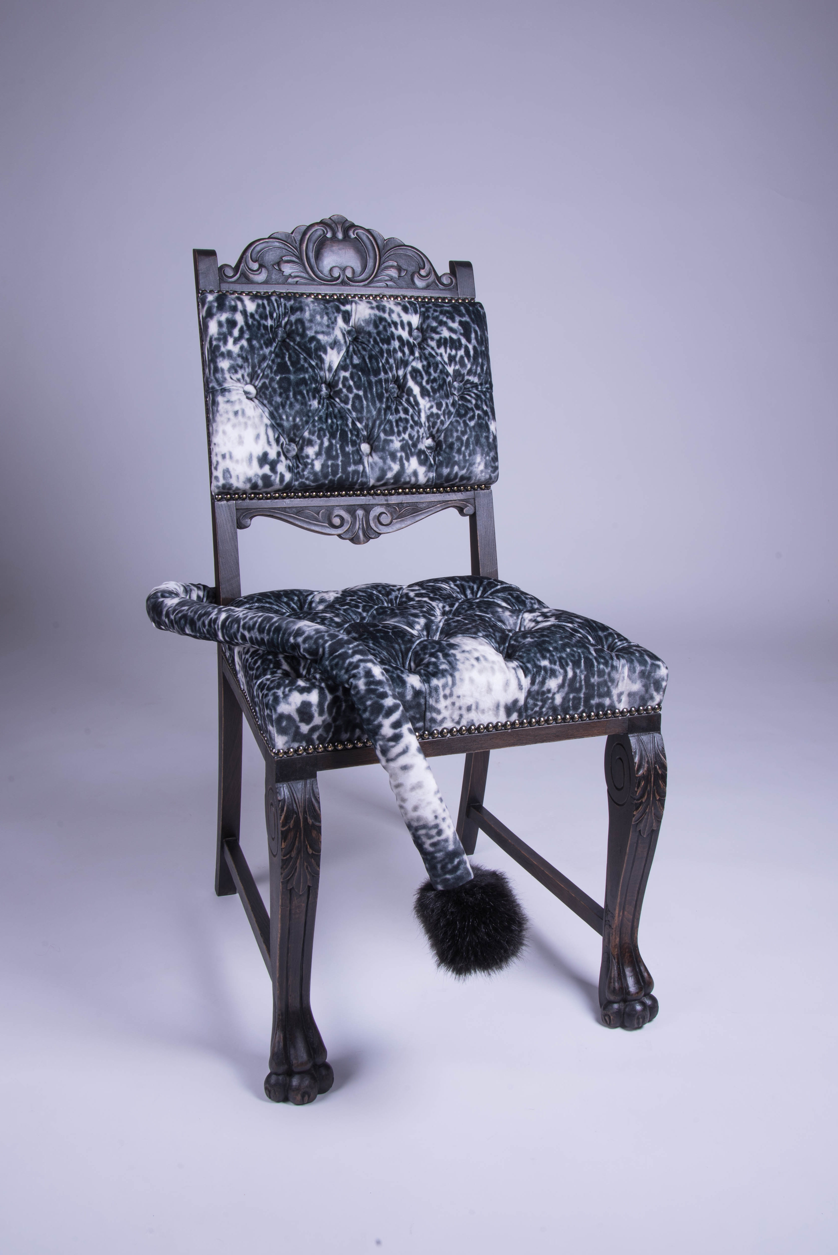 chaise fourrure
