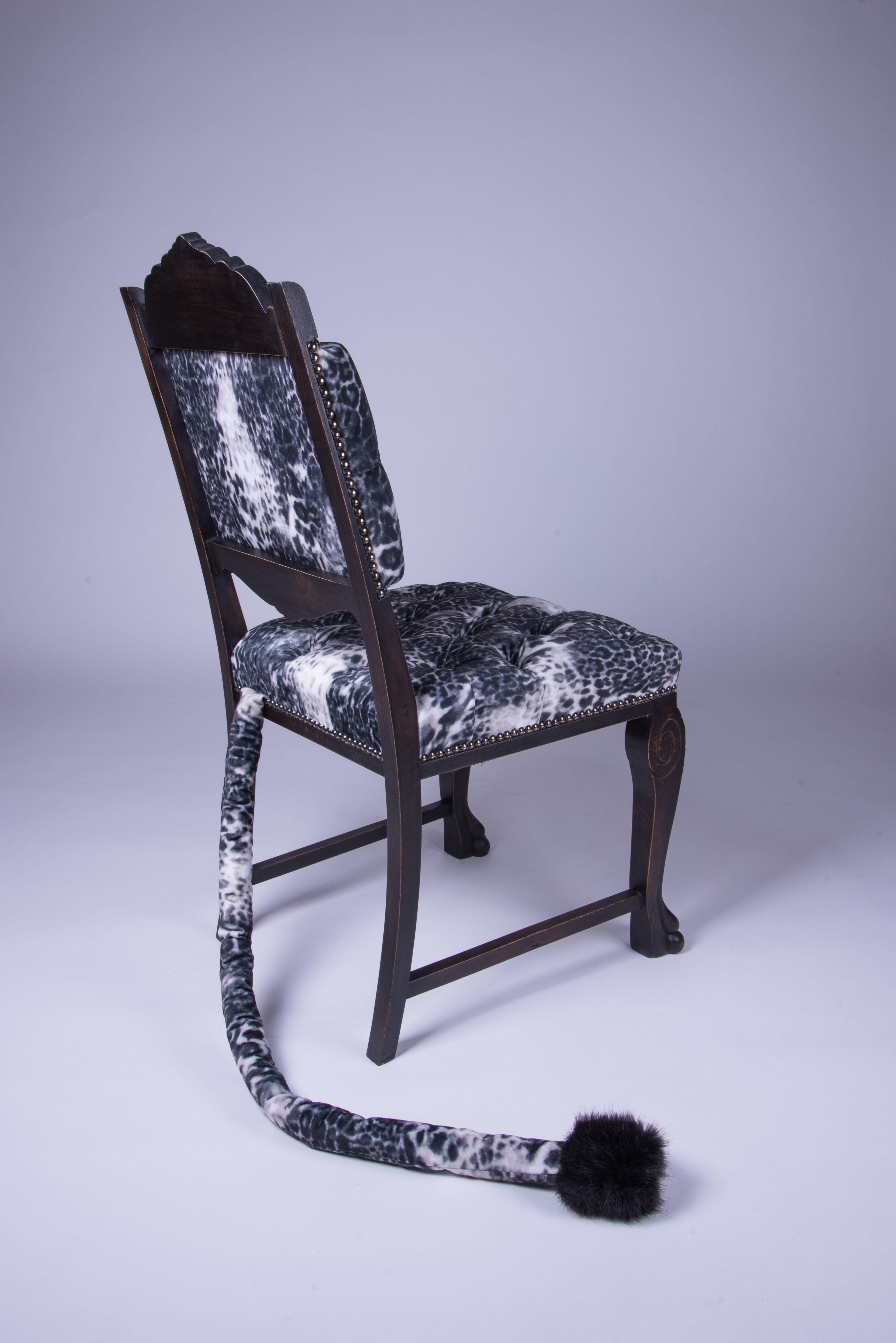 chaise avec queue