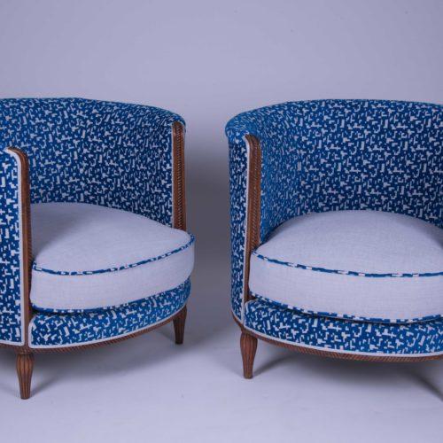 fauteuils à coussins