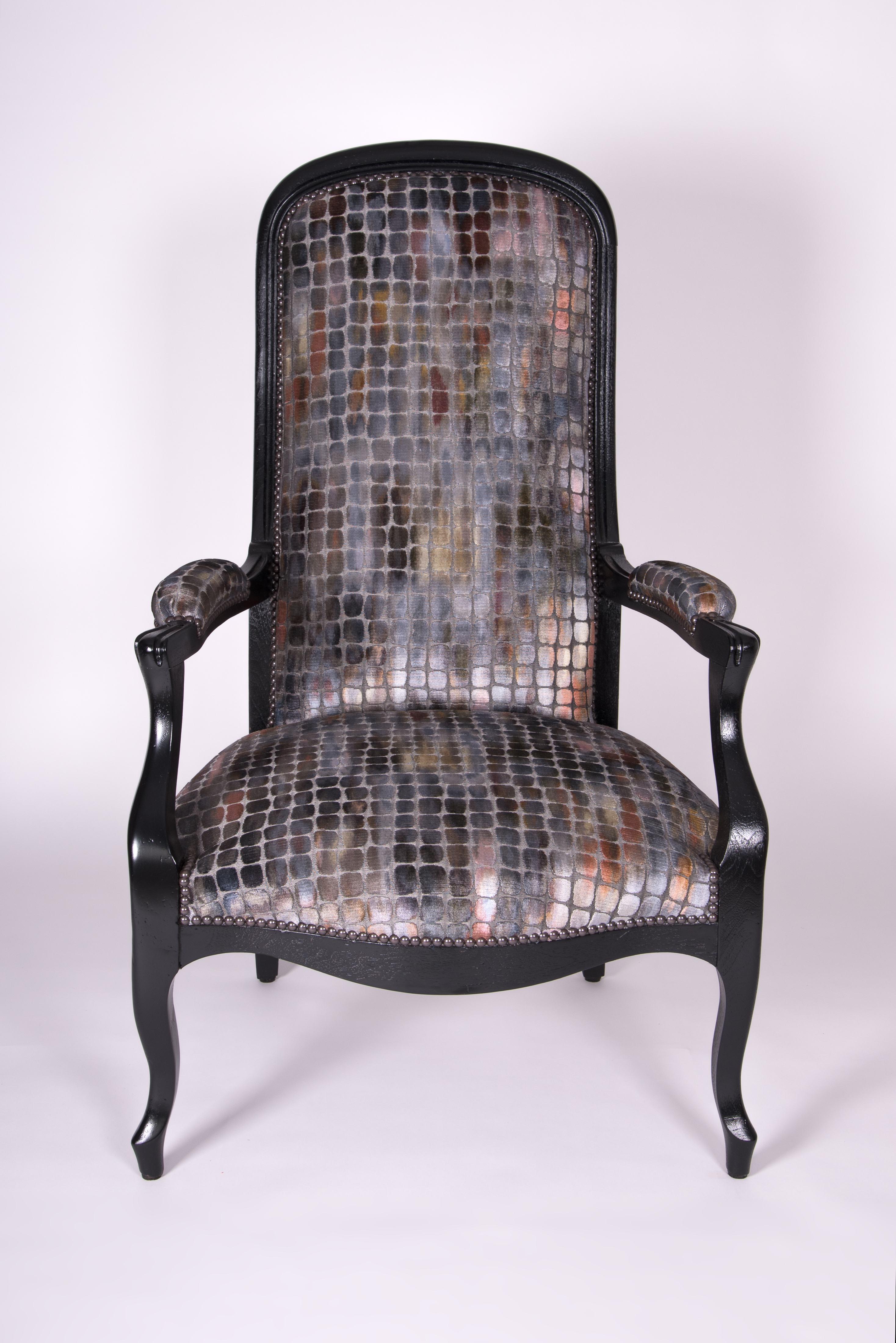 fauteuil voltaire restauré