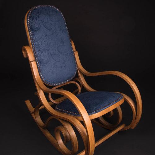 restauration fauteuil rockingchair aprés