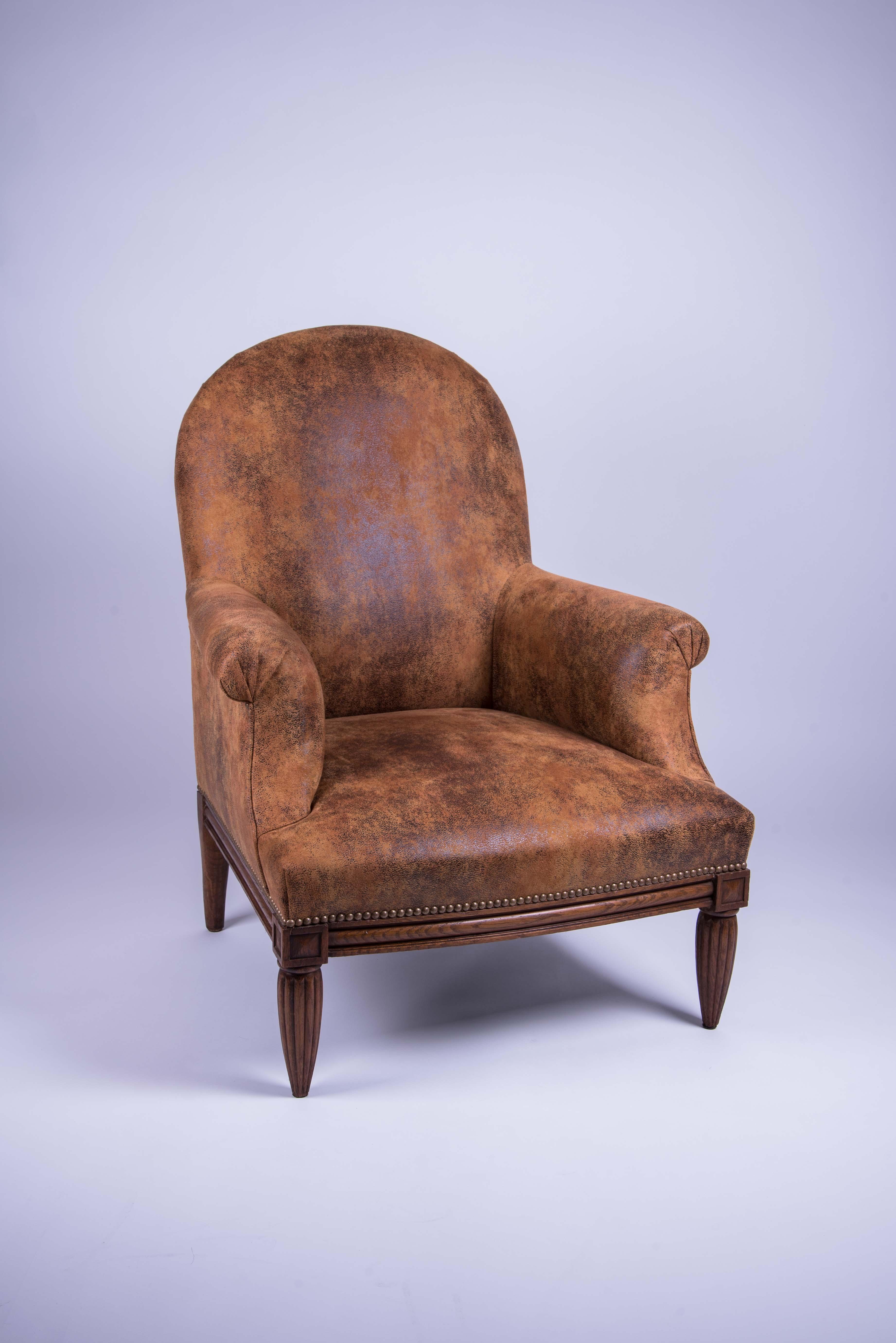 restauration fauteuil anglais