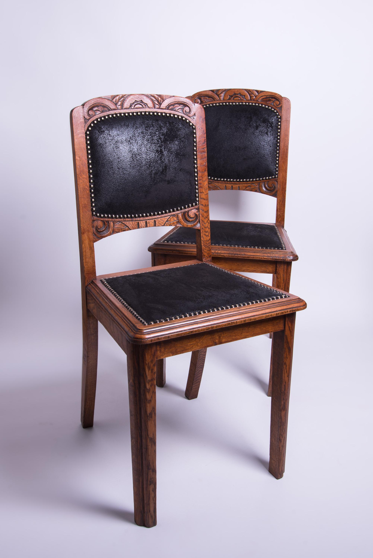 chaises style art déco